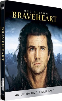 Braveheart (1995) de Mel Gibson – Packshot Blu-ray 4K Ultra HD