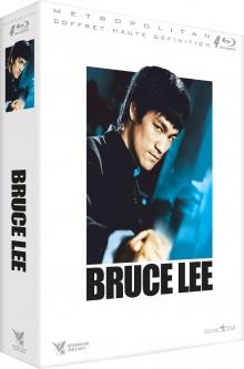 Bruce Lee – Coffret Édition Limitée : Big Boss, La Fureur de vaincre, La Fureur du Dragon, Le Jeu de la mort – Packshot Blu-ray