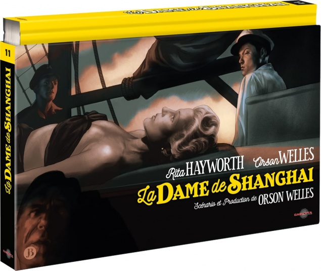 La Dame de Shanghaï (1947) de Orson Welles - Édition Coffret Ultra Collector – Packshot Blu-ray