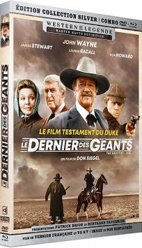 Le Dernier des géants (1976) de Don Siegel – Packshot Blu-ray