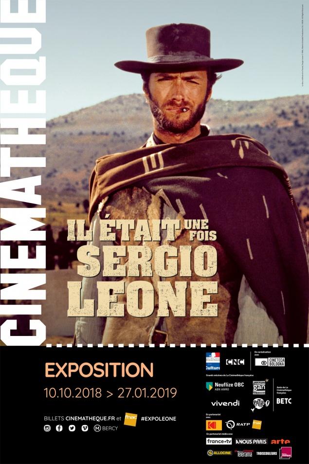Il était une fois Sergio Leone - Affiche expo Cinémathèque