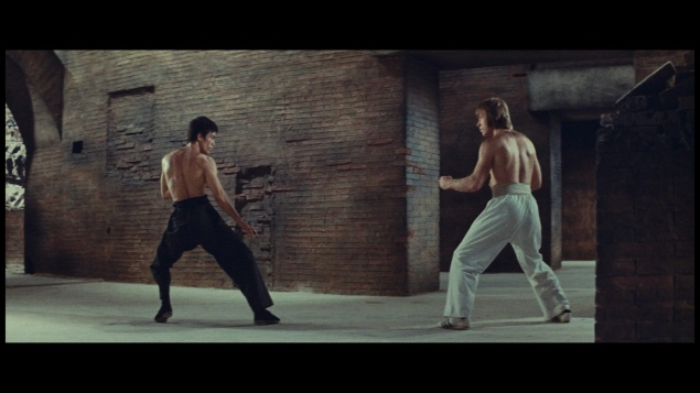 La Fureur du dragon (1972) de Bruce Lee – Édition 2018 (Master 4K) – Capture Blu-ray