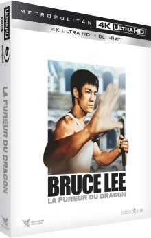 La Fureur du dragon (1972) de Bruce Lee – Packshot Blu-ray 4K Ultra HD