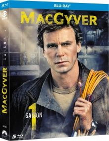 MacGyver (1985) - Saison 1 – Packshot Blu-ray