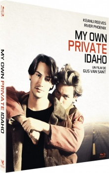 My Own Private Idaho (1991) de Gus Van Sant – Packshot Blu-ray