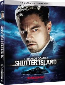Shutter Island (2010) de Martin Scorsese – Packshot Blu-ray 4K Ultra HD