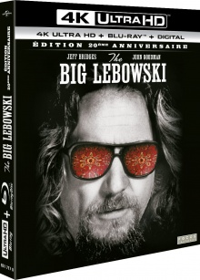 The Big Lebowski (1998) de Joel Coen et Ethan Coen – Packshot Blu-ray 4K Ultra HD