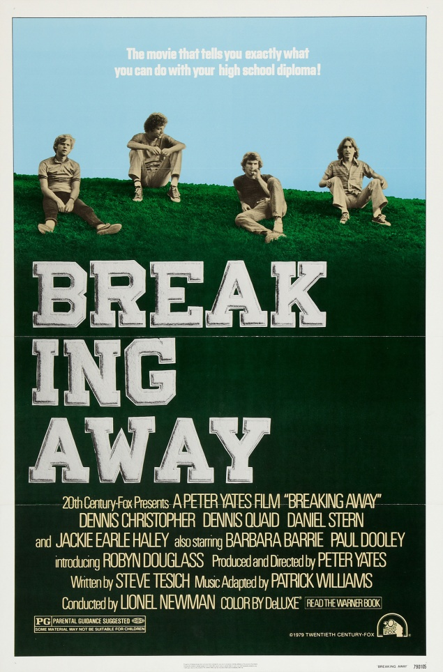 Breaking Away - Affiche US 1979