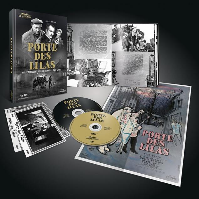 Porte des Lilas - Détail Blu-ray