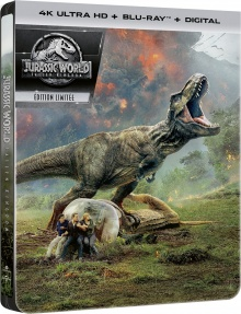 Jurassic World : Fallen Kingdom (2018) de J.A. Bayona – Packshot Blu-ray 4K Ultra HD
