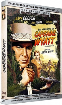 Les Aventures du Capitaine Wyatt (1951) de Raoul Walsh - Packshot Blu-ray