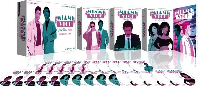 Miami Vice (Deux flics à Miami) - Intégrale de la série - Packshot Blu-ray