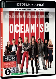 Ocean's 8 (2018) de Gary Ross – Packshot Blu-ray 4K Ultra HD