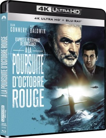 À la poursuite d'Octobre Rouge (1990) de John McTiernan - Packshot Blu-ray 4K Ultra HD