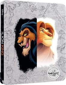 Le Roi Lion (1994) de Roger Allers & Rob Minkoff - Packshot Blu-ray 4K Ultra HD