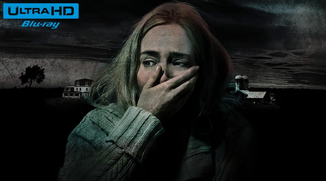 Sans un bruit (2018) de John Krasinski – Blu-ray 4K Ultra HD
