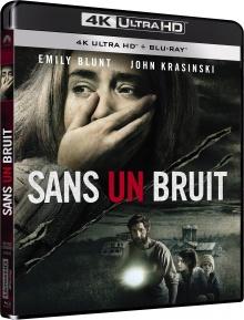 Sans un bruit (2018) de John Krasinski – Packshot Blu-ray 4K Ultra HD