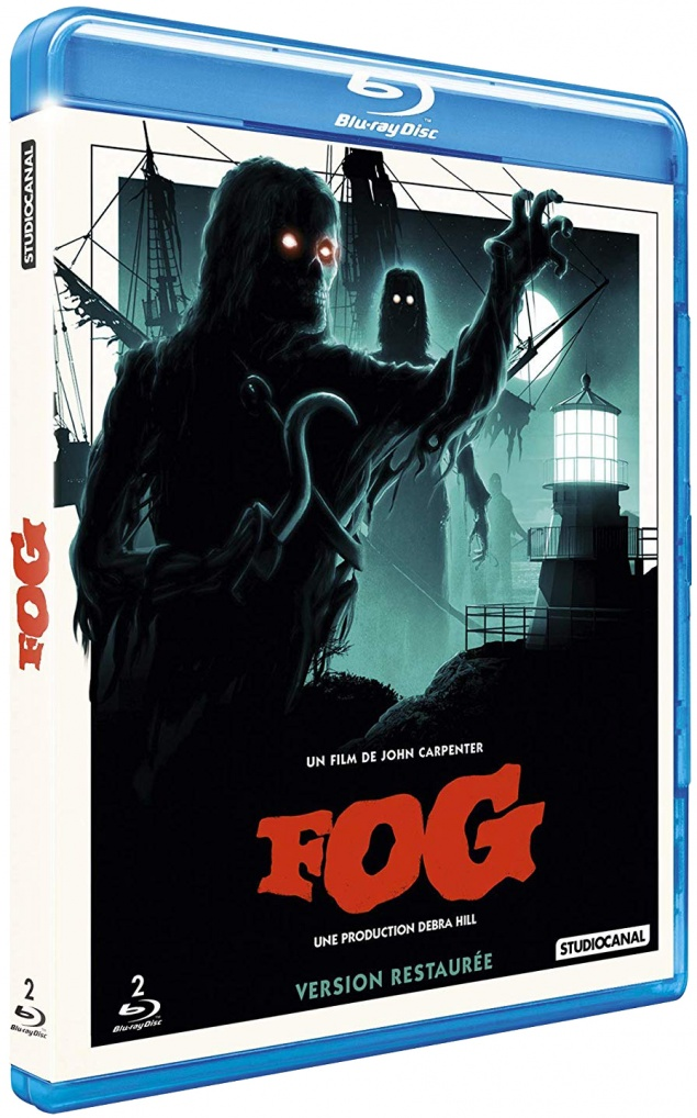 The Fog - Jaquette Blu-ray