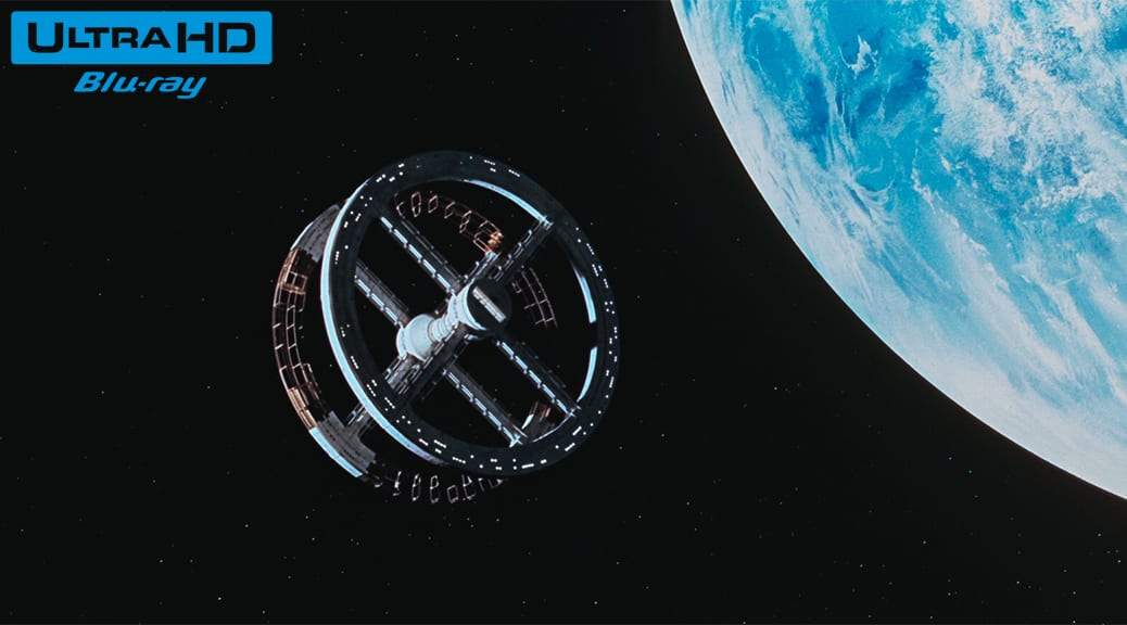 2001, l'Odyssée de l'espace (1968) de Stanley Kubrick - Blu-ray 4K Ultra HD