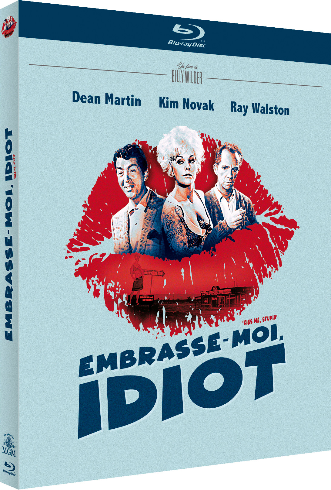 Embrasse-moi, idiot - Jaquette Blu-ray