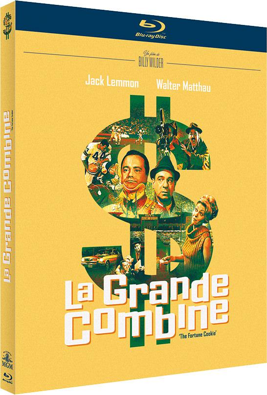 La Grande combine - Jaquette Blu-ray