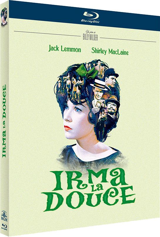 Irma la douce - Jaquette Blu-ray