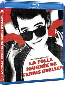 La Folle Journée de Ferris Bueller (1986) de John Hughes - Packshot Blu-ray
