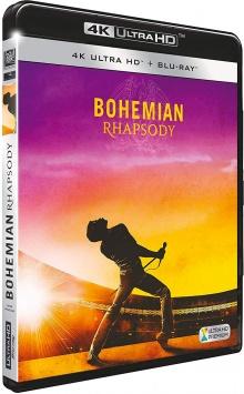 Bohemian Rhapsody (2018) de Bryan Singer - Packshot Blu-ray 4K Ultra HD