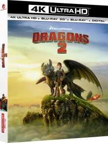 Dragons 2 (2014) de Dean DeBlois – Packshot Blu-ray 4K Ultra HD