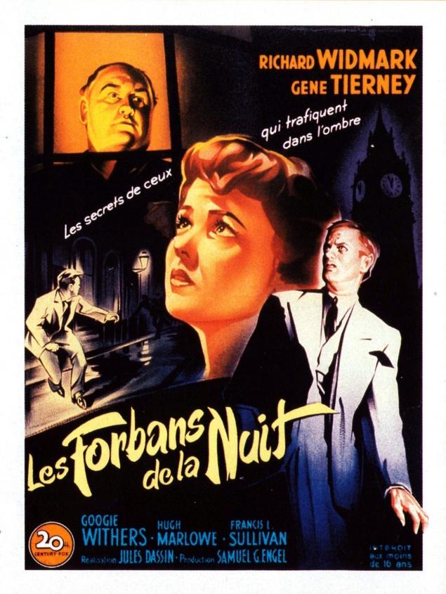 Les Forbans de la nuit - Affiche France d'origine