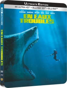 En eaux troubles (2018) de Jon Turteltaub – Packshot Blu-ray 4K Ultra HD