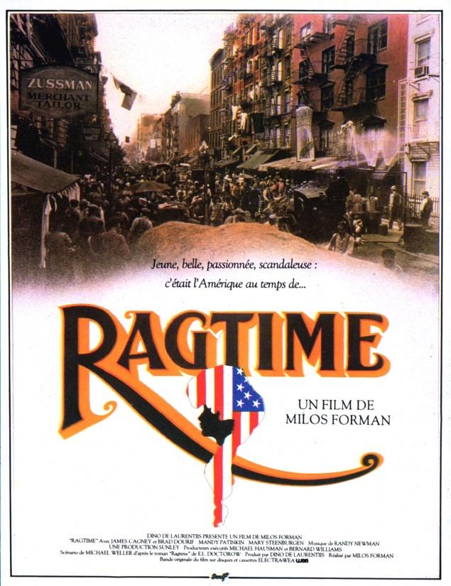 Ragtime - Affiche 1982
