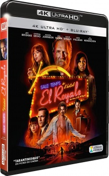 Sale temps à l'hôtel El Royale (2018) de Drew Goddard - Packshot Blu-ray 4K Ultra HD
