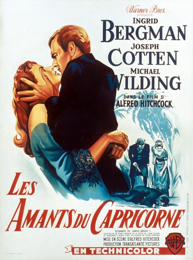 Les Amants du Capricorne - Affiche France 1949