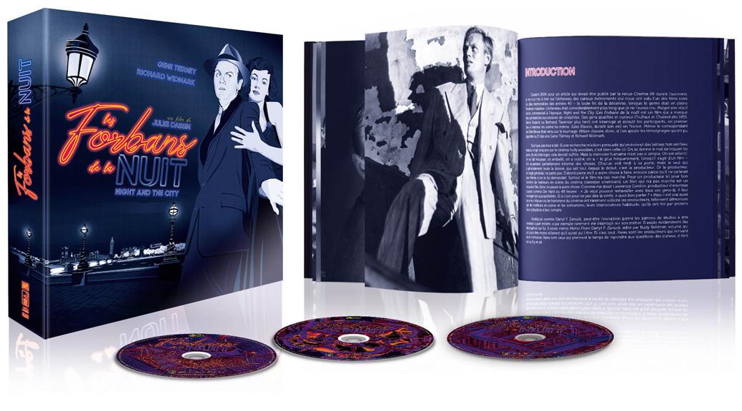 Les Forbans de la nuit - Visuel coffret Blu-ray ouvert
