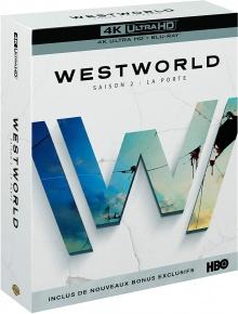 WestWorld - Saison 2 : La porte (2018) de Jonathan Nolan et Lisa Joy – Packshot Blu-ray 4K Ultra HD