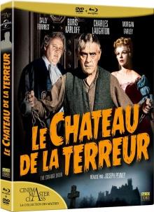 Le Château de la terreur (1951) de Joseph Pevney - Packshot Blu-ray
