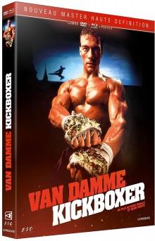 Kickboxer (1989) de Mark DiSalle & David Worth - Packshot Blu-ray