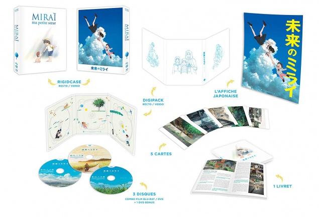 Miraï - Visuel édition collector