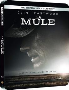La Mule (2018) de Clint Eastwood - Packshot Blu-ray 4K Ultra HD