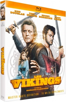 Les Vikings (1958) de Richard Fleischer - Packshot Blu-ray