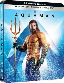 Aquaman (2018) de James Wan – Packshot Blu-ray 4K Ultra HD