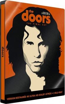 Les Doors (1991) de Oliver Stone - Packshot Blu-ray 4K Ultra HD