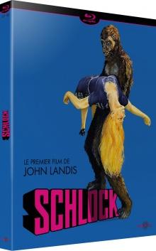 Schlock (1973) de John Landis - Packshot Blu-ray