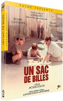 Un Sac de billes (1975) de Jacques Doillon - Packshot Blu-ray