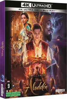 Aladdin (2019) de Guy Ritchie - Packshot Blu-ray 4K Ultra HD