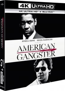 American Gangster (2007) de Ridley Scott- Packshot Blu-ray 4K Ultra HD