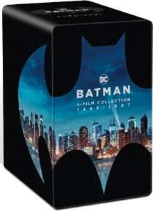 Batman : L'anthologie des films 1989-1997 - Packshot Blu-ray 4K Ultra HD