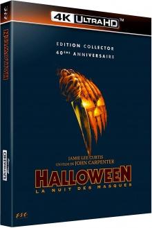 Halloween (1978) de John Carpenter- Packshot Blu-ray 4K Ultra HD