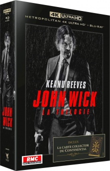 John Wick Trilogie - Packshot Blu-ray 4K Ultra HD